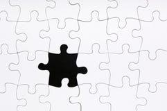 Het Ontbrekende Stuk van de puzzel Royalty-vrije Stock Afbeelding