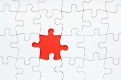 Het Ontbrekende Stuk van de puzzel Royalty-vrije Stock Foto