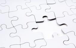 Het Ontbrekende Stuk van de puzzel Stock Afbeelding