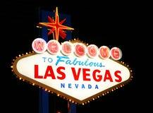 Het Onthaal van Vegas van Las Royalty-vrije Stock Foto