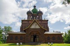 Het Onthoofden van de kerk van St. John Baptist stock foto's