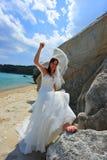 Het onthullen bruidportret Royalty-vrije Stock Fotografie