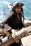 Het ontsnappen van aan Piraat Royalty-vrije Stock Foto