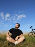 Het ontspannen in aard Stock Fotografie