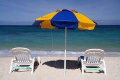 Het ontspannen in de zon Royalty-vrije Stock Foto's