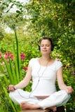 Het ontspannen in een tuin Royalty-vrije Stock Fotografie