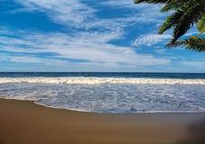 Het ontspannen Florida strand Royalty-vrije Stock Afbeeldingen