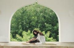 Het ontspannen groene pijnboom Royalty-vrije Stock Afbeelding