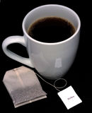 Het ontspannen Kop thee Stock Afbeeldingen