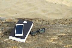 Het ontspannen op strand 5 Royalty-vrije Stock Afbeeldingen