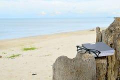 Het ontspannen op strand 4 Royalty-vrije Stock Foto