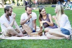Het ontspannen in park Royalty-vrije Stock Fotografie