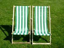 Het ontspannen stoelen Stock Fotografie