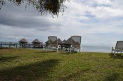Het ontspannen in Tahiti Royalty-vrije Stock Fotografie