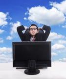 Het ontspannen van Businesspeople Royalty-vrije Stock Afbeeldingen