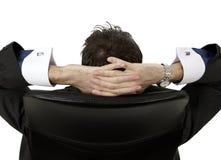 Het ontspannen van de mens Stock Afbeelding