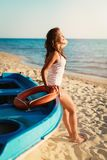Het ontspannen van de zomer royalty-vrije stock foto's