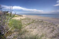 Het ontspannen van Florida stranden Royalty-vrije Stock Afbeeldingen
