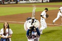 Het ontspruiten van M. Mets het kanon van de T-shirt Royalty-vrije Stock Fotografie