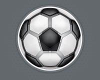 Het Ontwerp 1_CS5 van de voetbalbal stock illustratie