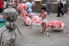 2013 het Ontwerp Hoofdweek van Shanghai Stock Afbeelding