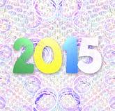 het ontwerp van 2015 Royalty-vrije Stock Afbeeldingen