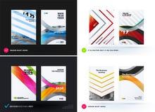 Het ontwerp van bedrijfs vectormalplaatje, brochure, vat jaarverslag samen, Royalty-vrije Stock Afbeeldingen