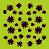 Het ontwerp van het bloempatroon Royalty-vrije Stock Fotografie