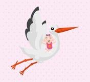 Het ontwerp van de babydouche Royalty-vrije Stock Foto's