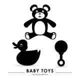 Het ontwerp van de babydouche Royalty-vrije Stock Fotografie