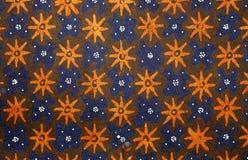 Het ontwerp van de batik royalty-vrije stock foto's