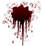 Het ontwerp van de bloedvlek Stock Afbeeldingen