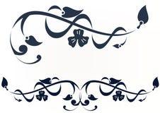 Het ontwerp van de bloem royalty-vrije illustratie