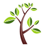 Het ontwerp van de boom vector illustratie