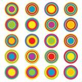 Het ontwerp van de cirkel Royalty-vrije Stock Foto's