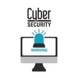 Het ontwerp van de Cyberveiligheid Royalty-vrije Stock Fotografie