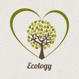 Het ontwerp van de ecologie Royalty-vrije Stock Afbeeldingen