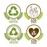 Het ontwerp van de ecologie Stock Fotografie