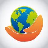 Het ontwerp van de ecologie vector illustratie