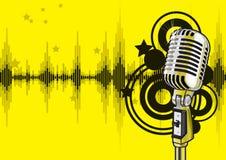 Het Ontwerp van de Gebeurtenis van de muziek (vector) Royalty-vrije Stock Foto