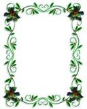 Het ontwerp van de Grens van Kerstmis Royalty-vrije Stock Fotografie
