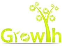 Het ontwerp van de groei Stock Foto
