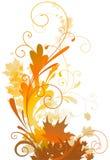 Het ontwerp van de herfst Stock Fotografie