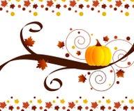 Het ontwerp van de herfst stock illustratie