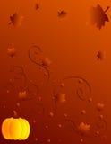 Het ontwerp van de herfst royalty-vrije illustratie