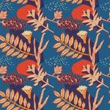 Het ontwerp van het de herfstpatroon Vector illustratie Stock Afbeelding