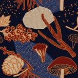 Het ontwerp van het de herfstpatroon Vector illustratie Stock Foto