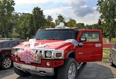 Het ontwerp van de huwelijksauto Royalty-vrije Stock Foto