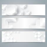 Het ontwerp van de inzamelingsbanner, witte achtergrond Stock Fotografie