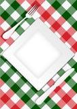 Het Ontwerp van de Kaart van het menu Stock Afbeeldingen